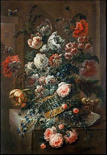 Jan Baptist Morel Flemish still life painter