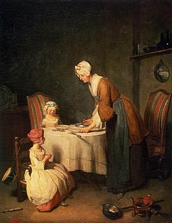 painting by Jean Siméon Chardin, housed at the Hermitage