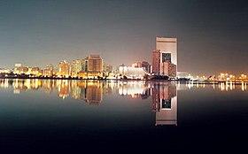 Le front de mer de Djeddah.