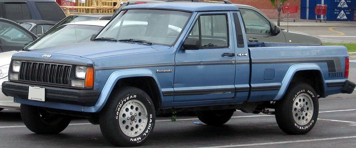 Jeep Comanche - Wikipedia