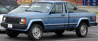 Jeep Comanche Motor vehicle