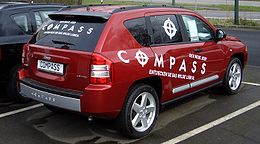 Jeep Compass 2.0 CDR Limited from 2007 backright dealer decals 2008-03-20 U.JPG