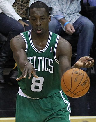 Jeff Green (basketball) - Green playing for the Celtics