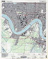 Jefferson Parish Louisiana Riverfront New Orleans Map 1998.jpg