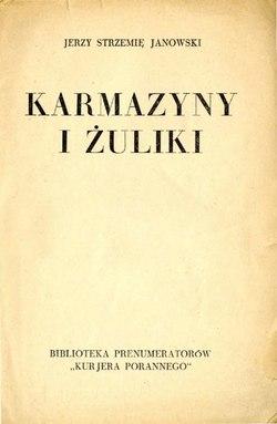 Karmazyny I żulikicałość Wikiźródła Wolna Biblioteka