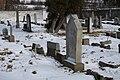 Jewish cemetery in Pisek in winter (15).JPG