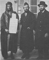 Jews purchasing Arab title deed in Palestine.tif