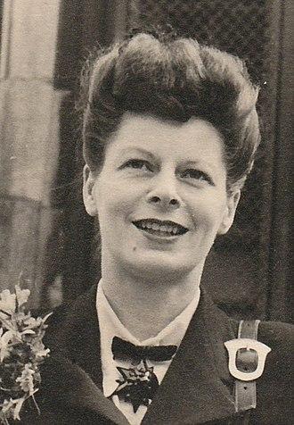 Gillian, Lady Greenwood of Rossendale - Jill Greenwood in 1946