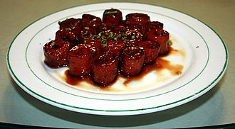 Shandong cuisine - Image: Jiuqu dachang 2009 03