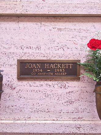 Joan Hackett - Crypt of Joan Hackett at Hollywood Forever