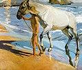 Joaquín Sorolla y Bastida - El baño del caballo.jpg