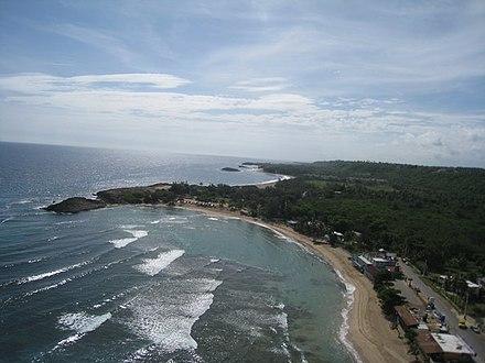 Jobos Beach Aerial Isabela Pr