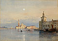 Johann Gottfried Steffan Venedig Blick zur Dogana.jpg