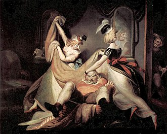 "The Merry Wives of Windsor - Henry Fuseli: ""Falstaff in the Washbasket"", 1792"
