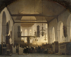 A Service in the Geertekerk, Utrecht