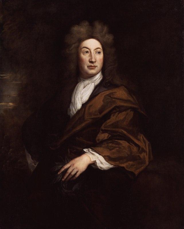 John Dryden portrait painting