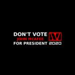 John McAfee 2020 bumper sticker.png