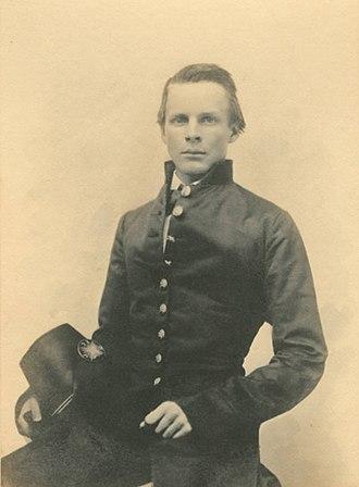 John Pelham (officer) - John Pelham in his West Point uniform in 1858