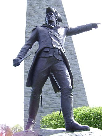 John Stark - General Stark's statue at the Bennington Battle Monument