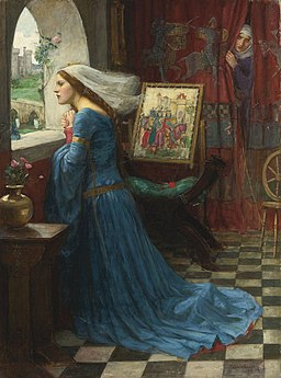 """Queen Eleanor"" by Frederick Sandys"