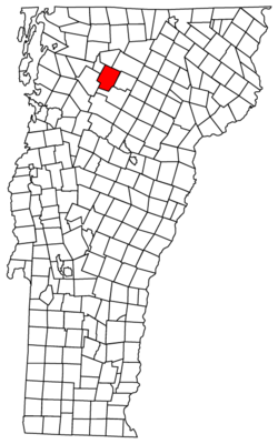 Located in Lamoille County, Vermont