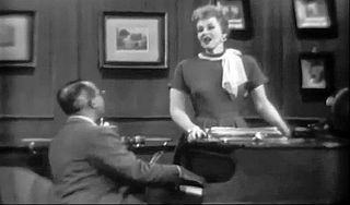 Jonathan and Darlene Edwards musical comedy double act developed by American conductor and arranger Paul Weston, and his wife, singer Jo Stafford