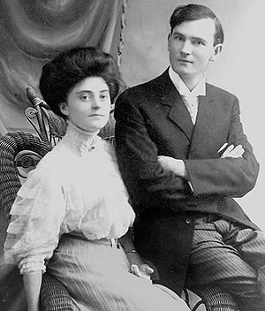 Bob Jones Sr. -  Bob Jones and his bride, Mary Gaston Stollenwerck Jones, June 1908