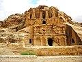 Jordan, Petra. The Obelisk Tomb and the Bab es-Siq Triclinium.jpg
