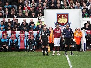Jordan Spence - Spence making his West Ham debut, May 2010