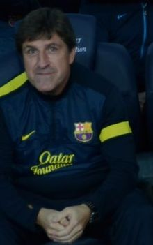Jordi Roura before game against Celta de Vigo.jpg