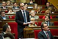 Jordi Turull en la sessió de control del Ple del Parlament.jpg