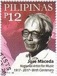 José Maceda 2017 stamp of the Philippines.jpg
