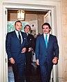 José María Aznar recibe al rey Mohamed VI de Marruecos.jpg