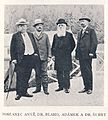 Josef Anýž, Pavel Blaho, Karel Adámek a Eduard Šubrt v Luhačovicích 1911.JPG