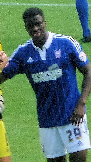 Josh Emmanuel - Emmanuel playing for Ipswich Town in 2015
