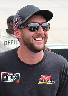 Josh Reaume Canadian auto racing driver