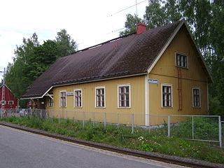 Joutseno railway station Railway station in Lappeenranta, Finland