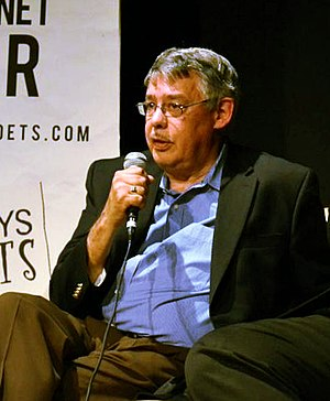 Juan González (journalist) - González speaking at Busboys and Poets in Washington D.C. on Friday, October 28, 2011