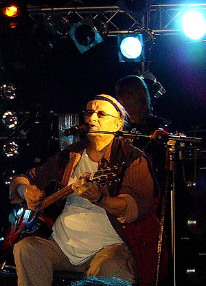 Juice Leskinen - Juice Leskinen at his second to last concert in Tampere, Finland on August 2006.