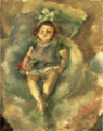 JulesPascin-1928-Girl with White Ribbon.png