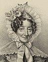 Julien Léopold Boilly Thierry frères Sophie de Bawr 1835 détail.jpg
