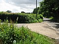 Junction of lane from Woodsden with Water Lane - geograph.org.uk - 886067.jpg