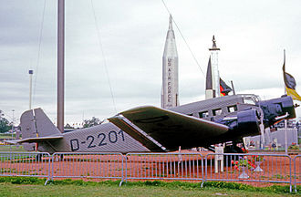 Deutsche Luft Hansa - Junkers Ju 52/3mte delivered to DLH in the mid-1930s. Painted as 'D-2201', the first of many examples operated by the airline