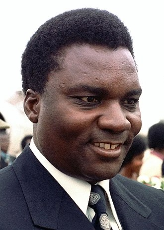 1973 Rwandan coup d'état - Juvénal Habyarimana, who took power in the coup, pictured in 1980