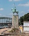 Köln, Reiterstandbild -Lanzenreiter- -- 2014 -- 1858.jpg