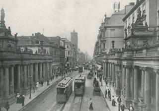 Königstraße mit Königskolonaden