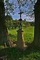 Kříž jihozápadně nad obcí, Valchov, okres Blansko.jpg