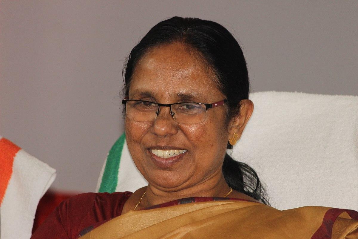 K K Shailaja Wikipedia