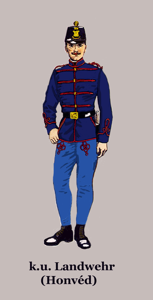 Royal Croatian Home Guard - Uniform of the Hungarian Honvéd