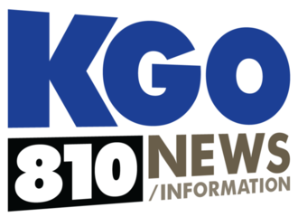 KGO (AM) - KGO's ident under an all-news format.